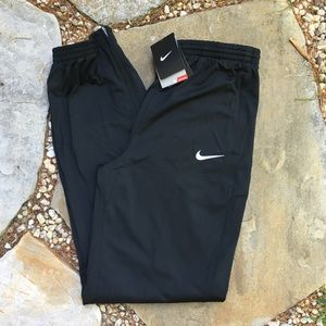 NIKE Dri-Fit Joggers W/ Pockets and Ankle Zip